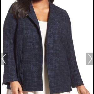 Eileen Fisher Cross Hatch jacket